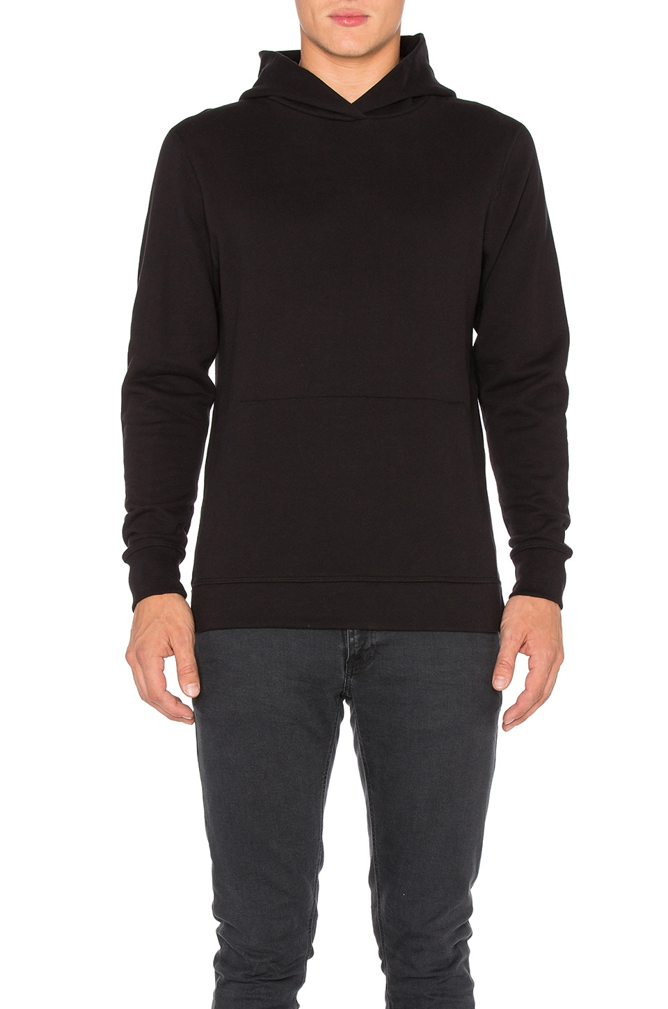 JOHN ELLIOTT Hooded Villain in Black