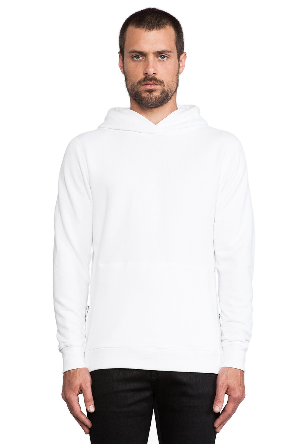 JOHN ELLIOTT Hooded Villain in White