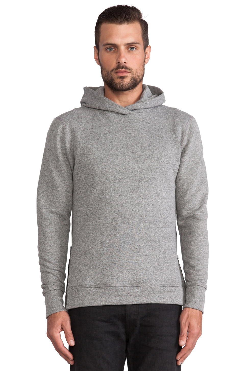 JOHN ELLIOTT Hooded Villain in Grey