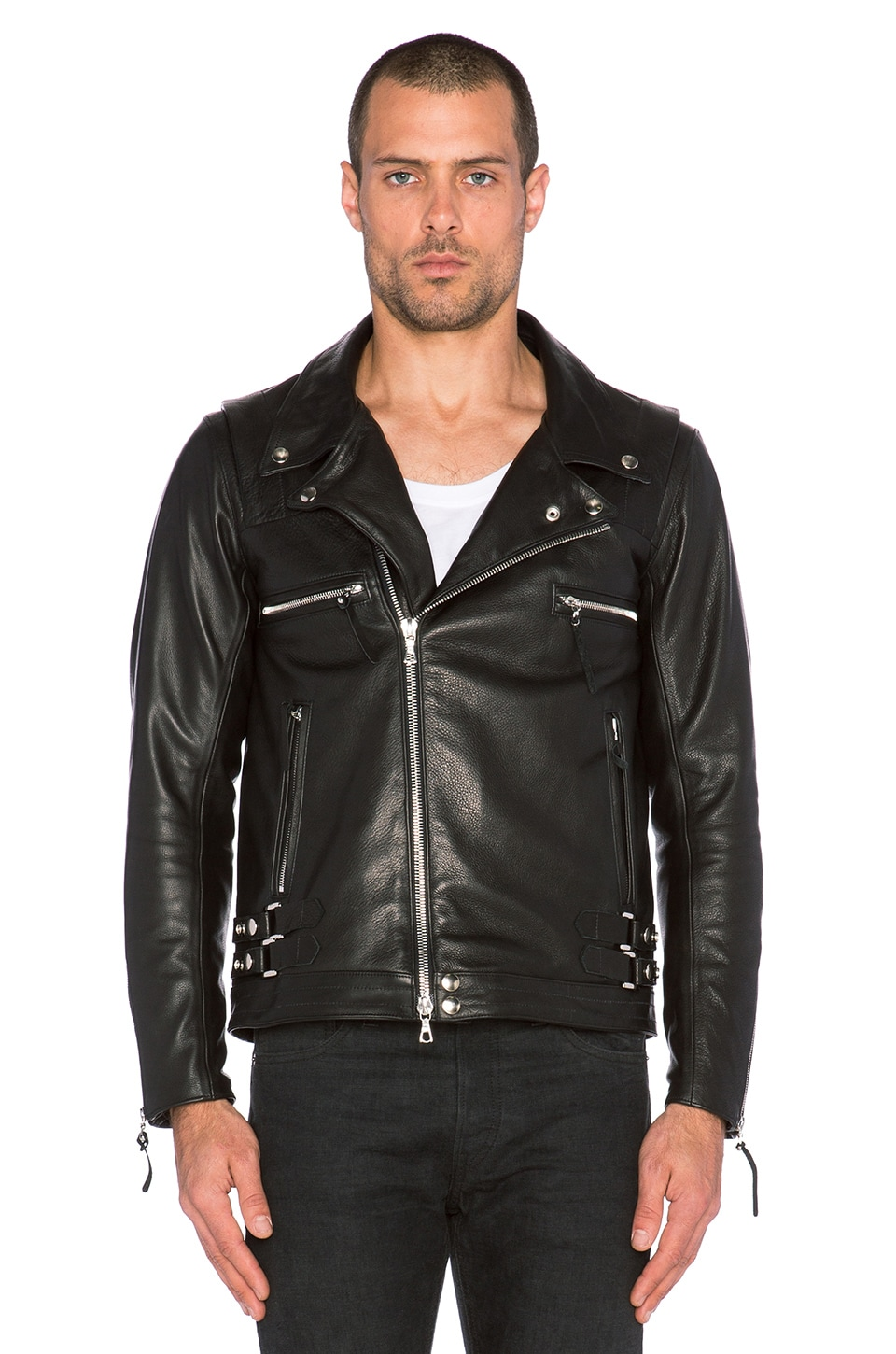 Riders Jacket India co Rider's Jacket in Black
