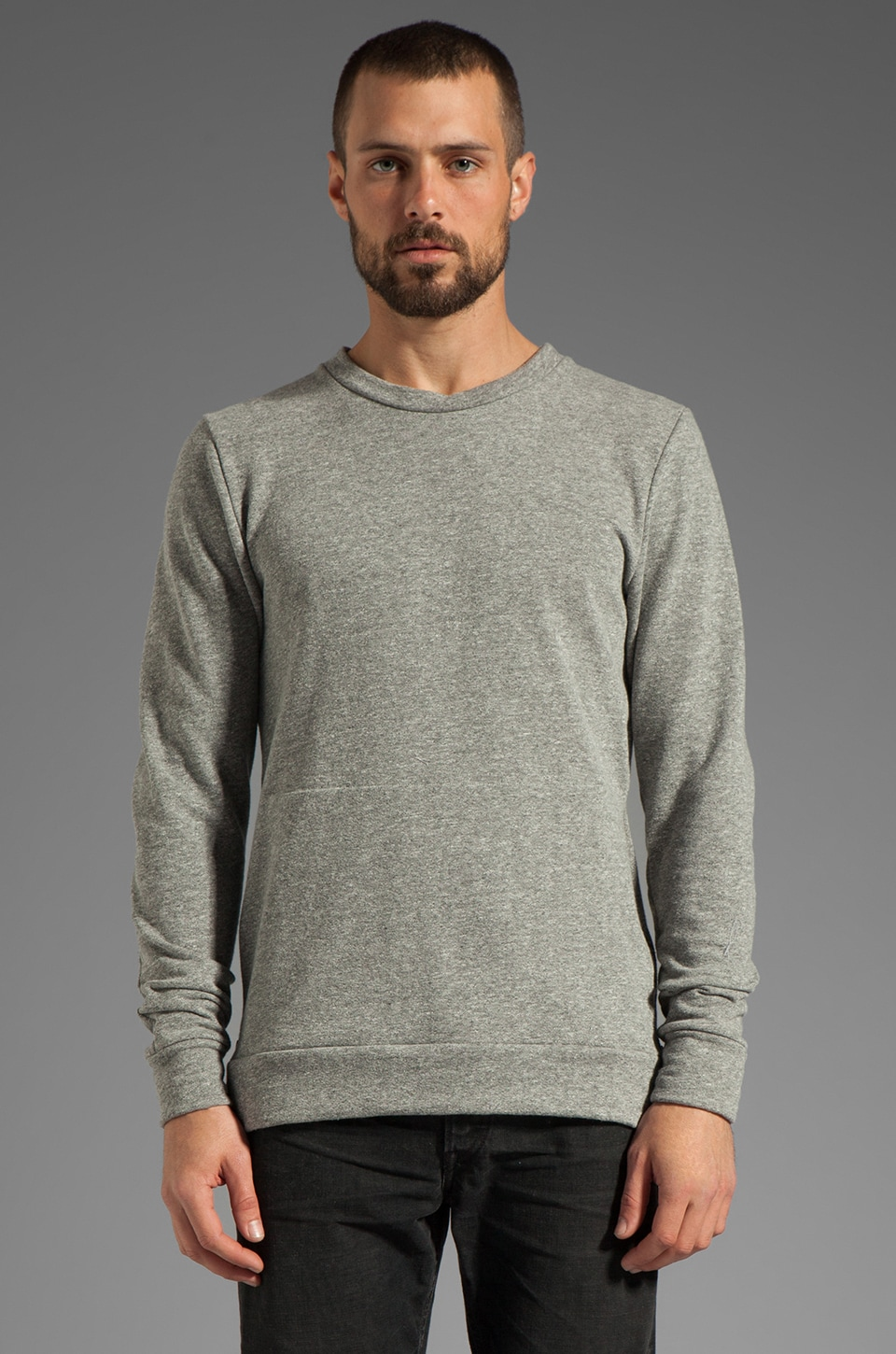 JOHN ELLIOTT Villian Pull-Over in Grey
