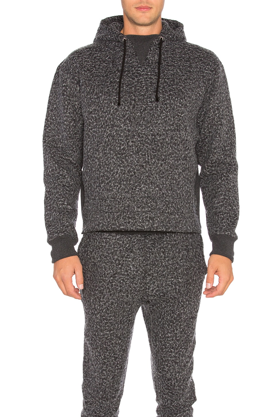 Gauze Terry Kake Mock Pullover by JOHN ELLIOTT