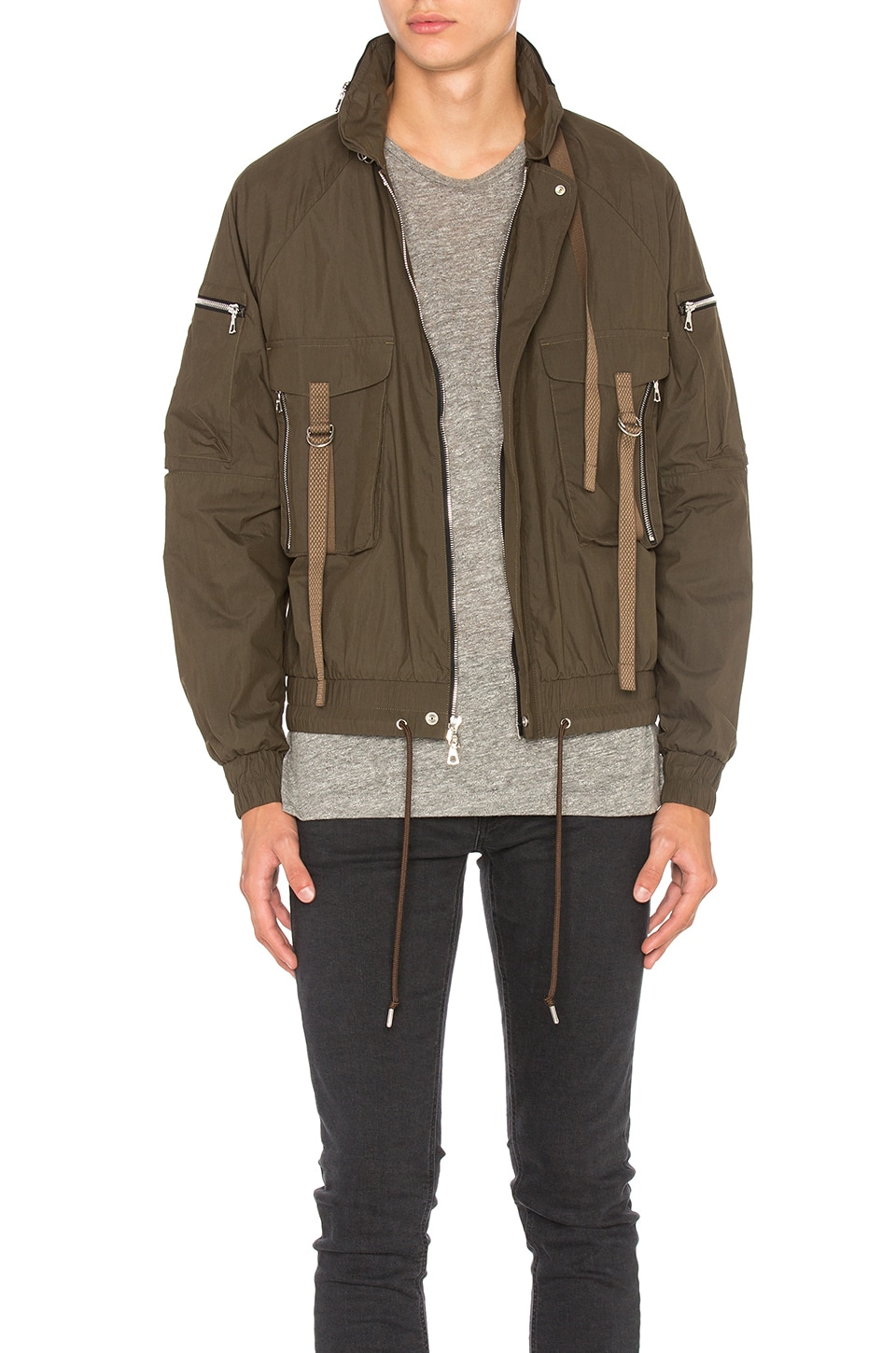 Photo of SRD Parachute Jacket by JOHN ELLIOTT men clothes