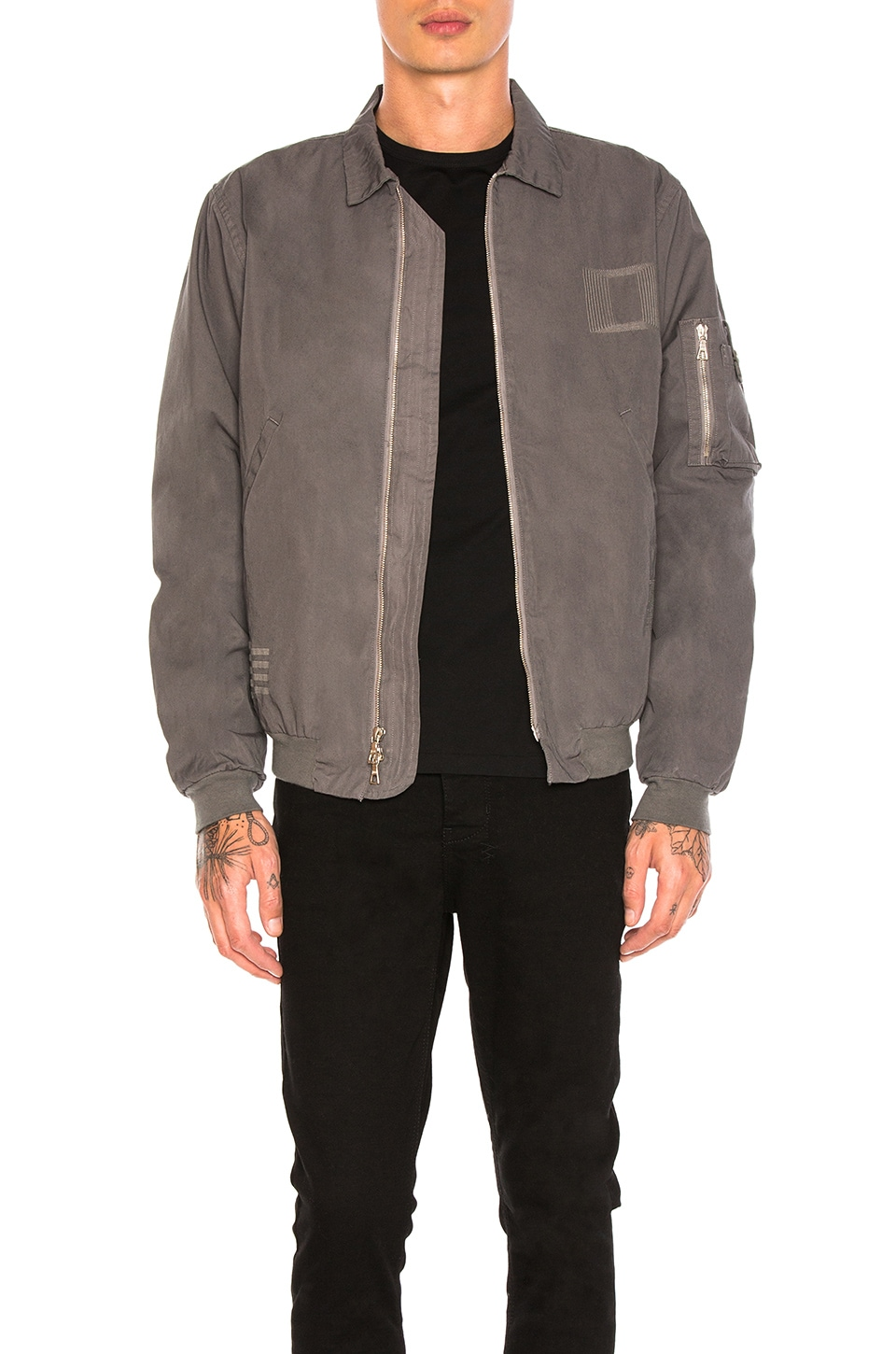 Embroidered Flight Jacket by JOHN ELLIOTT