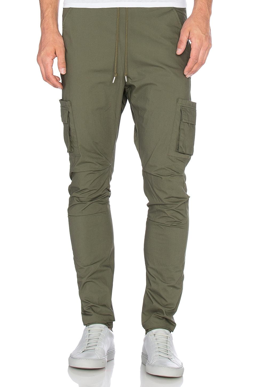 JOHN ELLIOTT Cargo Pants in Olive | REVOLVE