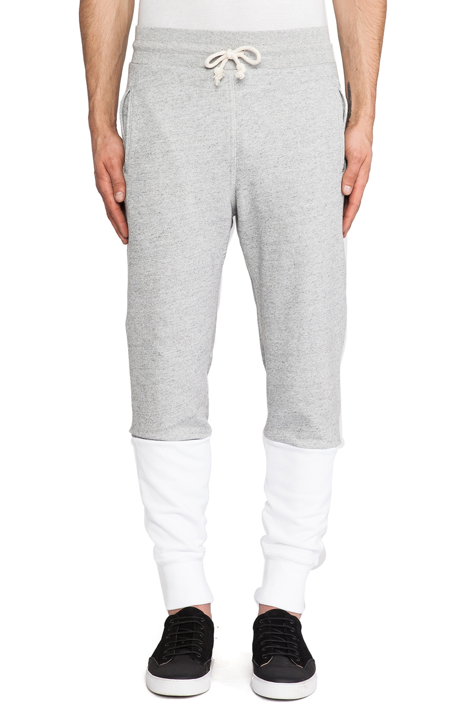JOHN ELLIOTT Lima Sweatpant in Duo Grey