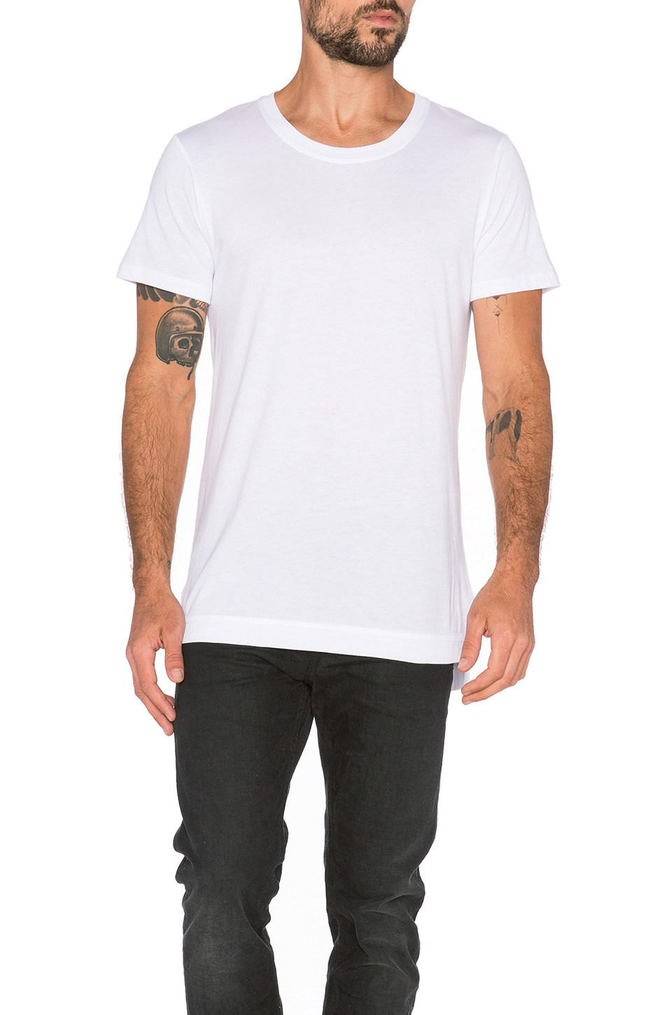 JOHN ELLIOTT Mercer Tee in White