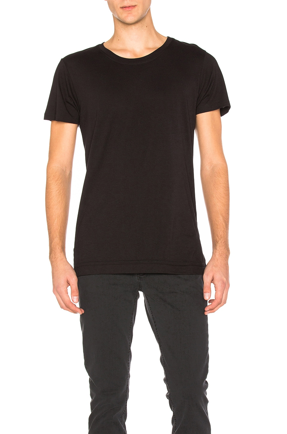 JOHN ELLIOTT Mercer Tee in Black