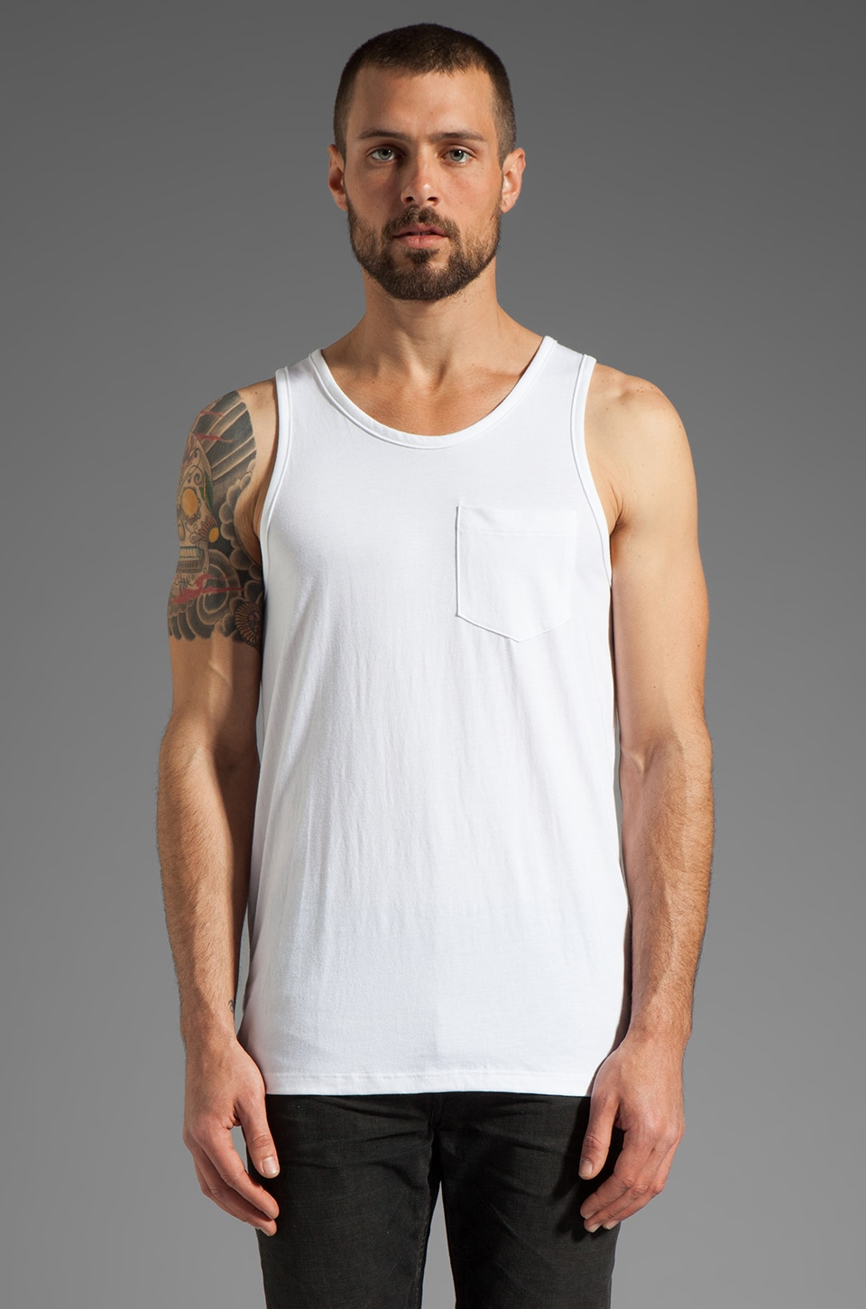 JOHN ELLIOTT Mercer Tank in White