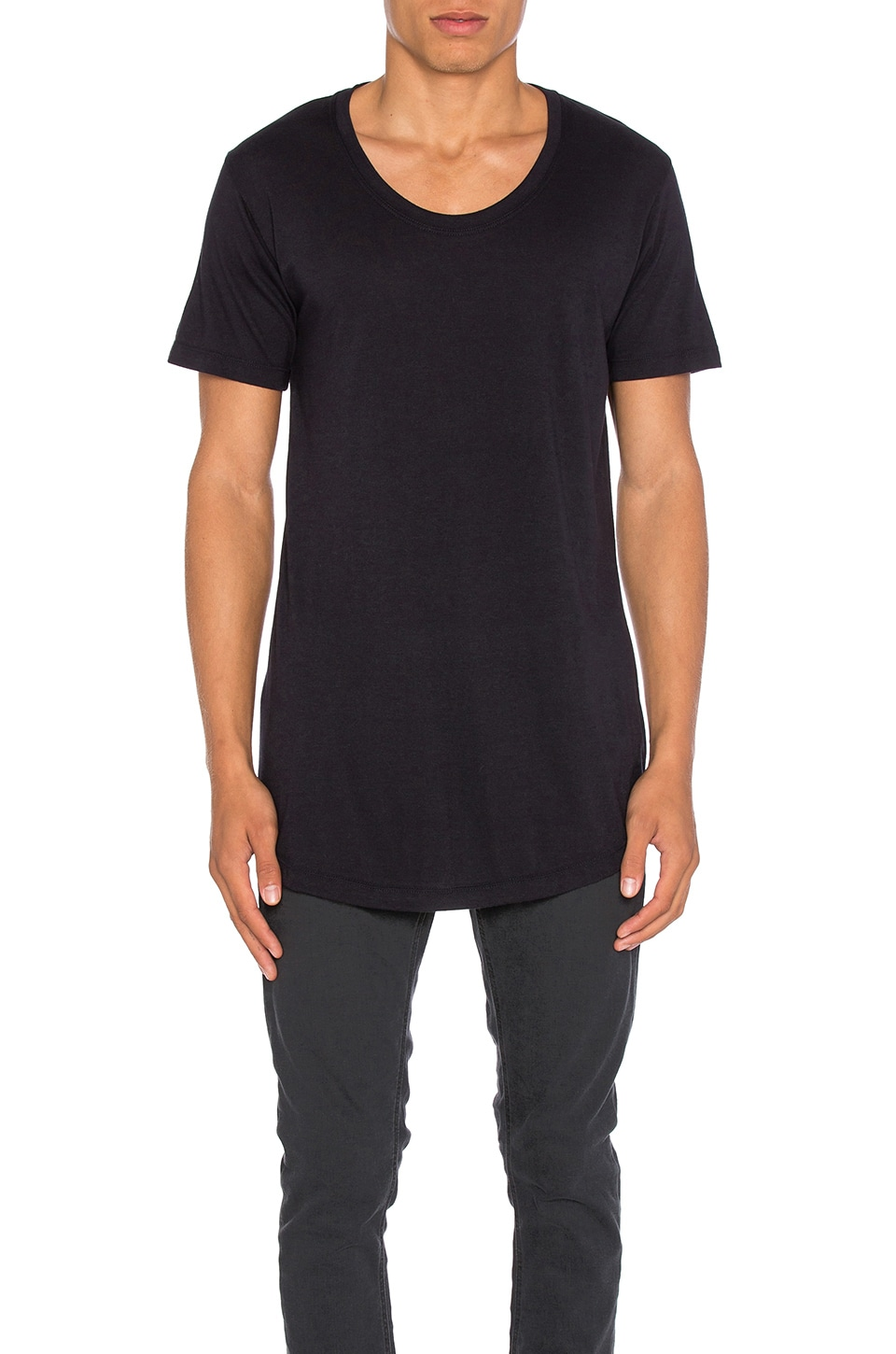 Curve U-Neck by JOHN ELLIOTT
