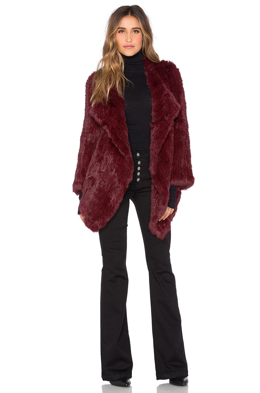 Cascade Rabbit Fur Coat