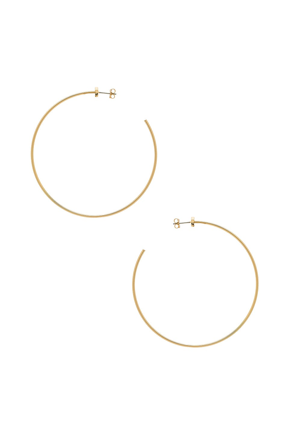 Jenny Bird Starlet Hoops in Gold