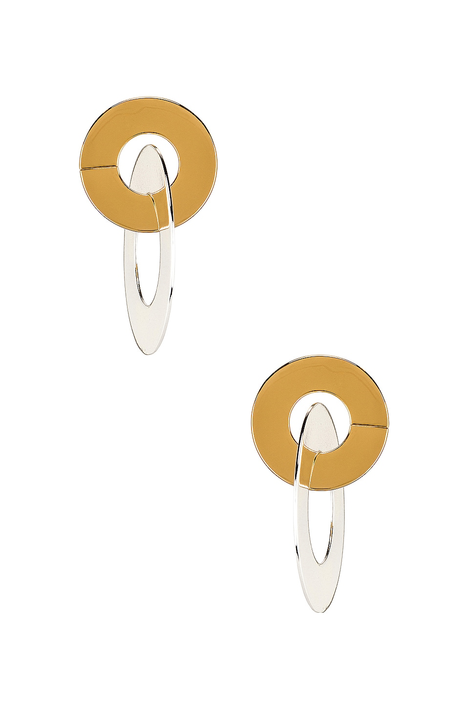 Jenny Bird Last Dance Earrings in Gold