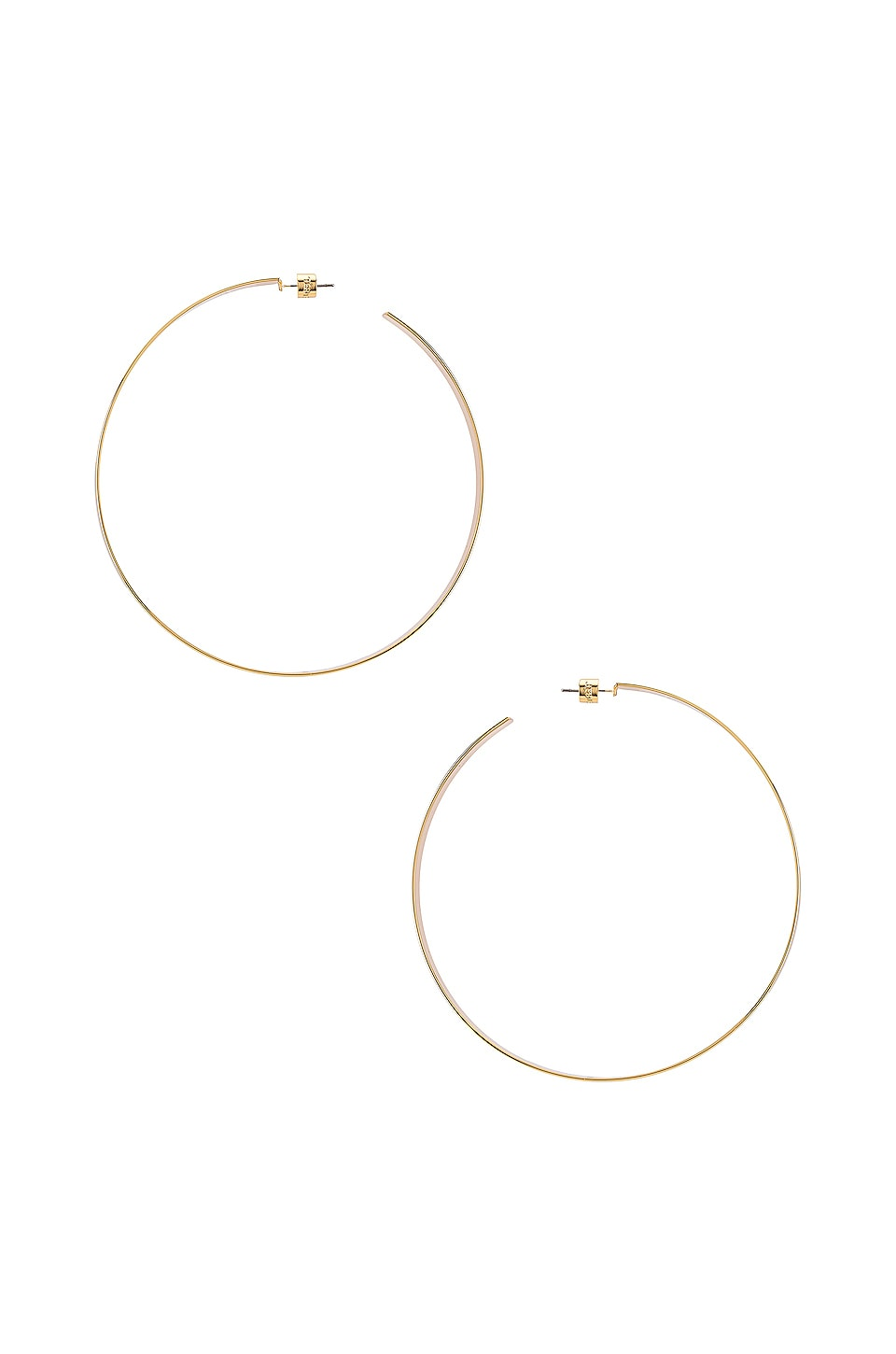 Jenny Bird Cober Hoops in Gold