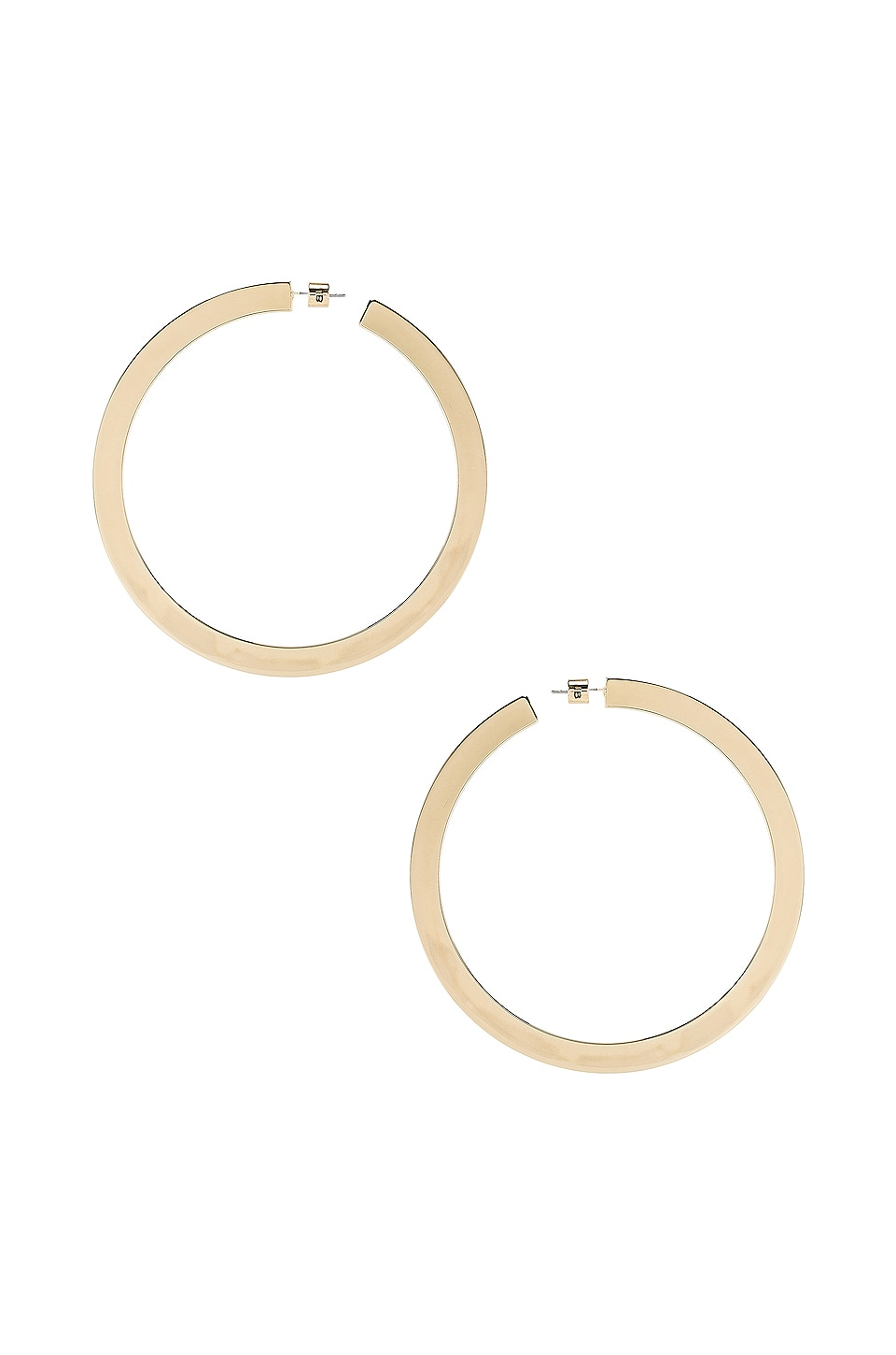 Jenny Bird Quinn Hoops in Gold