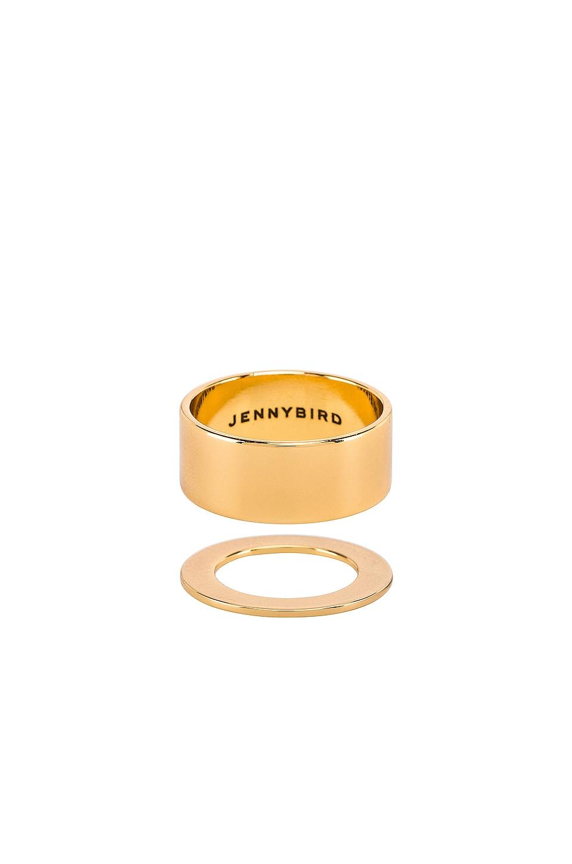 Jenny Bird Carmine Ring Set in Gold