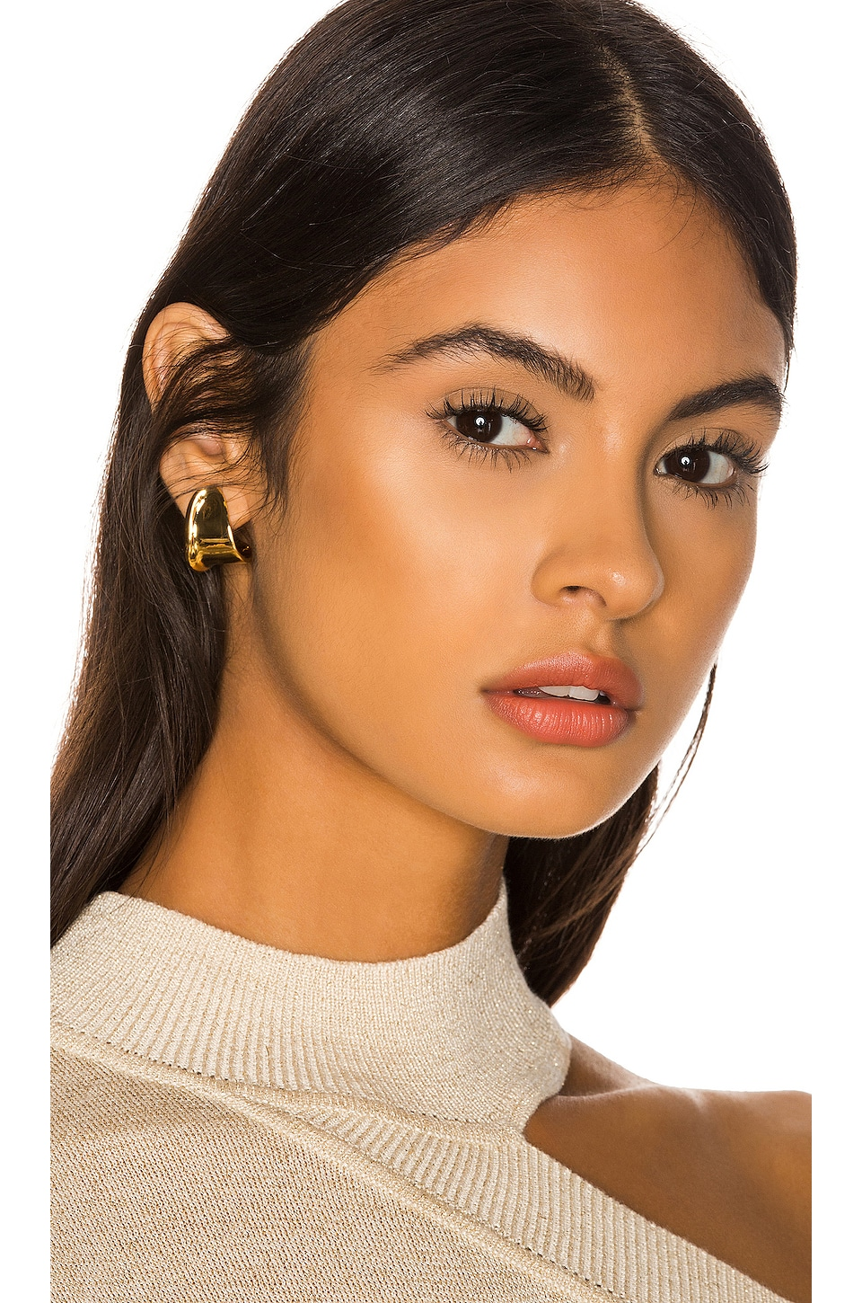 Jenny Bird Juno Mini Hoop Earrings in Gold