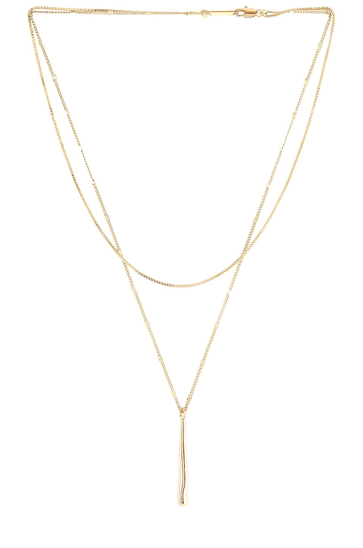 Jenny Bird Sila Necklace in Gold