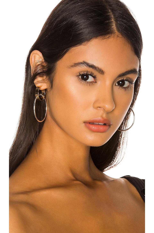 Jenny Bird Imogen Hoop Earrings in Gold