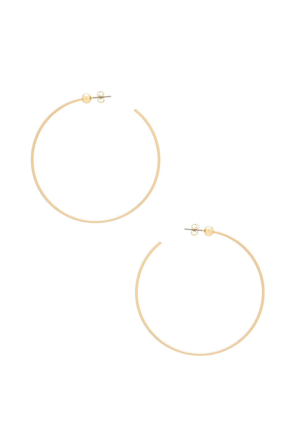 Jenny Bird Icon Hoops M in Gold