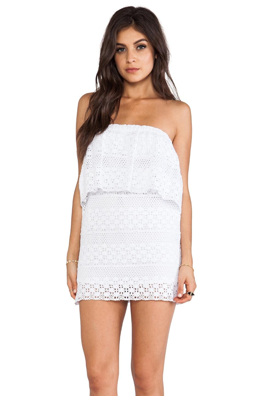 jen's pirate booty tube dress in white | revolve