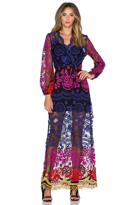 Jen's Pirate Booty Ara Maxi Dress in Autumn