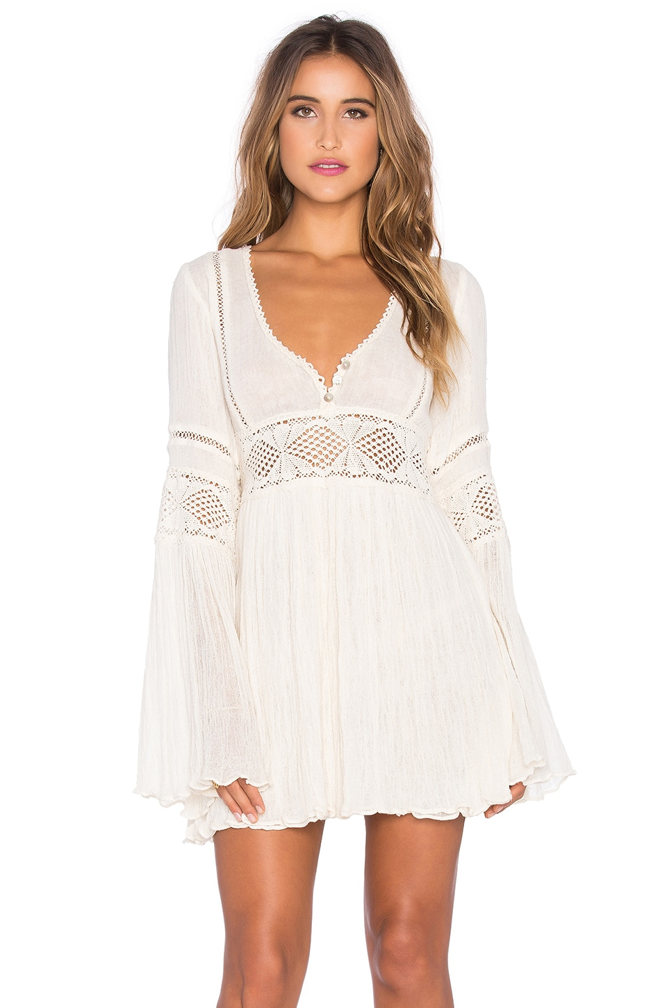Jen's Pirate Booty Enchanted Babydoll Dress in Natural