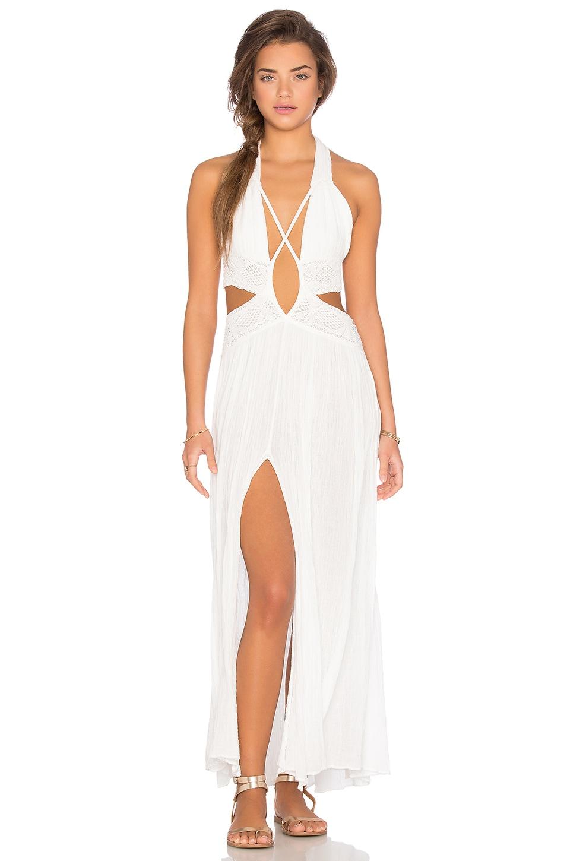 Jen's Pirate Booty Lexington Dress in White