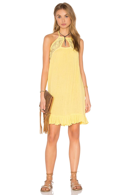 Jen\'s Pirate Booty Swallowtail Dress in Pale Yellow | REVOLVE