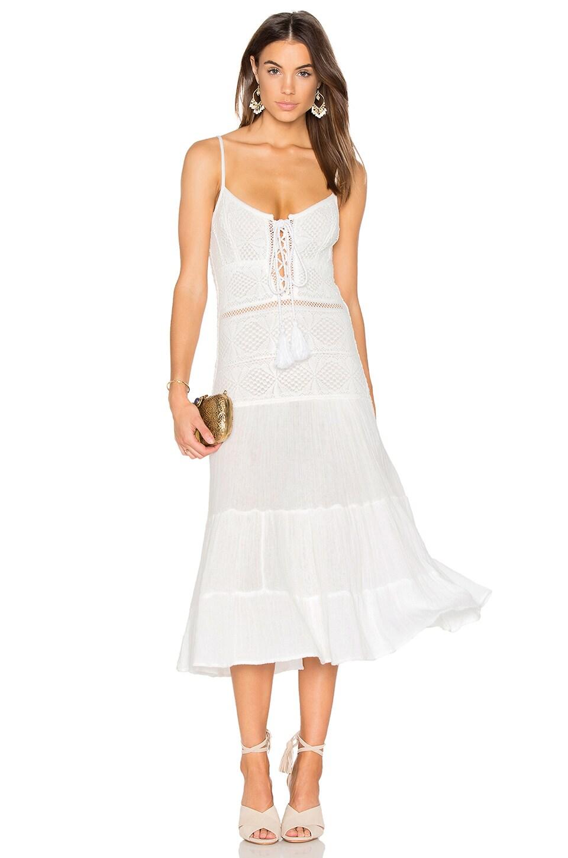Jen's Pirate Booty x REVOLVE Tassel Queen Bandit Dress in White