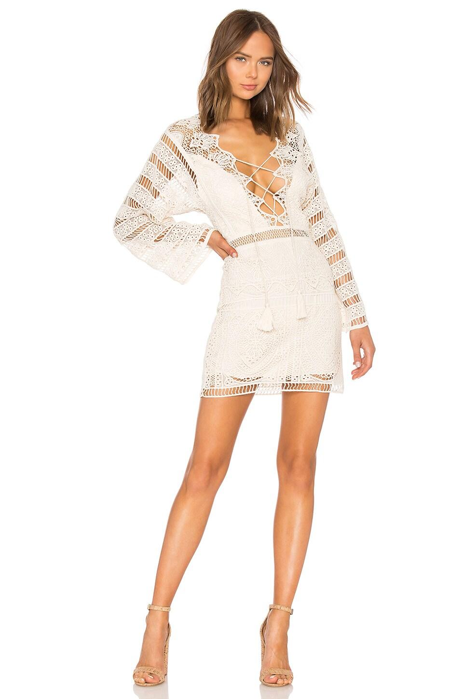 Jen's Pirate Booty Isabella Mini Dress in Naturale Lace
