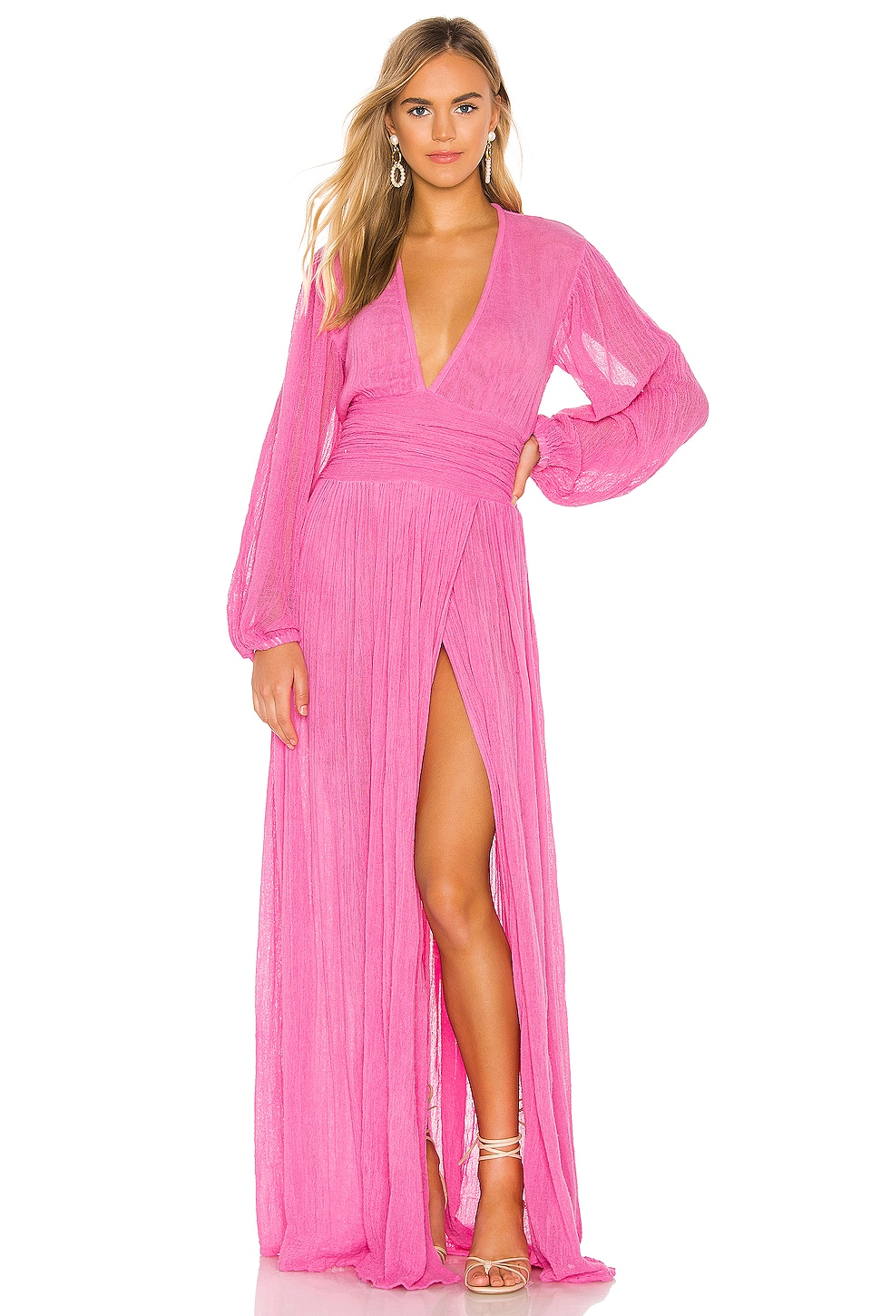 Jen's Pirate Booty Lapis Maxi Dress in Pink Sky