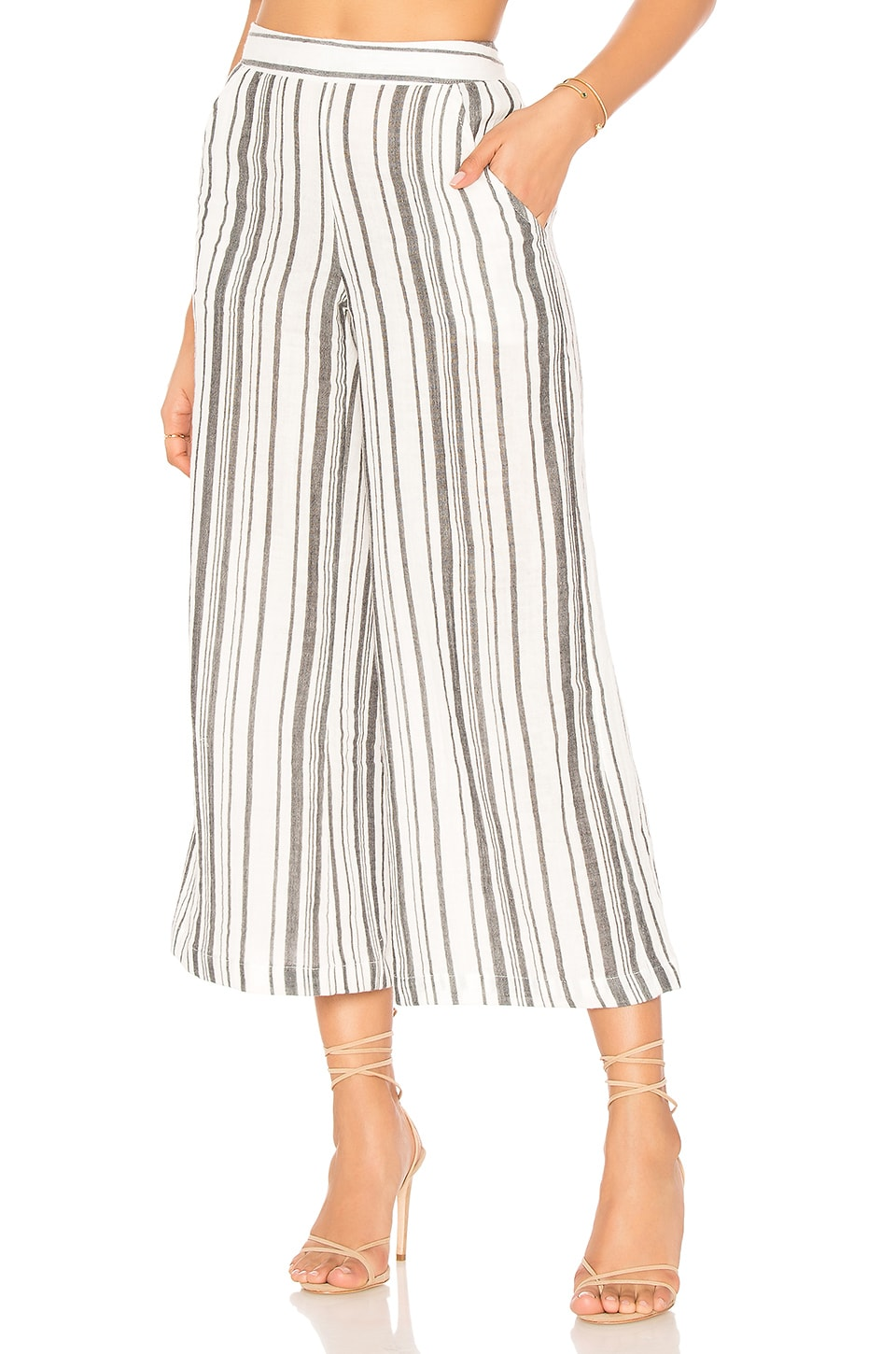 Stripe Garam Crop Pant