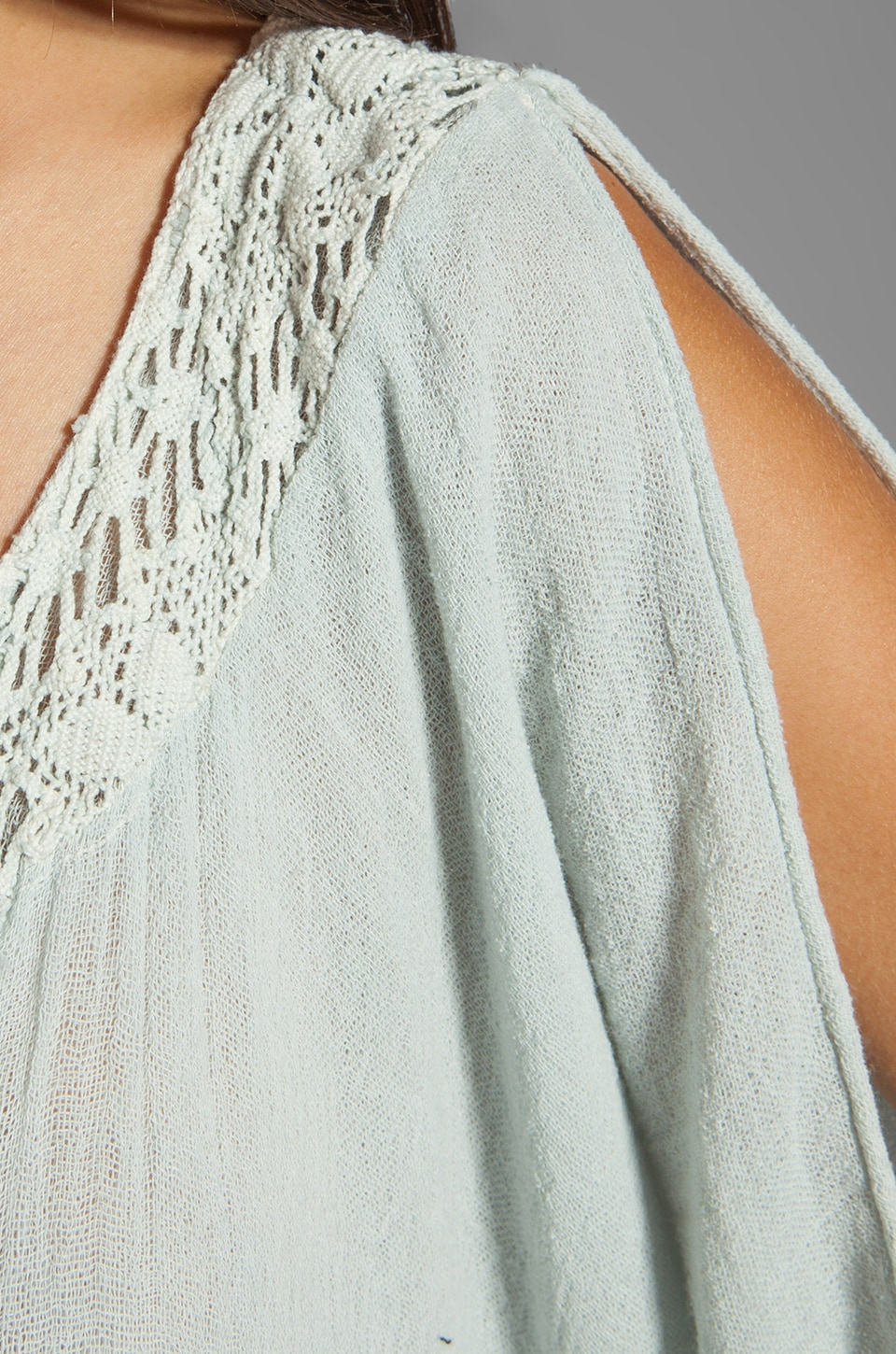 Jen's Pirate Booty Lace Tabasco Top in Silver