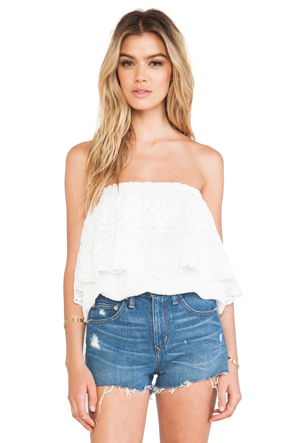 jen's pirate booty jamaican tube top in white | revolve