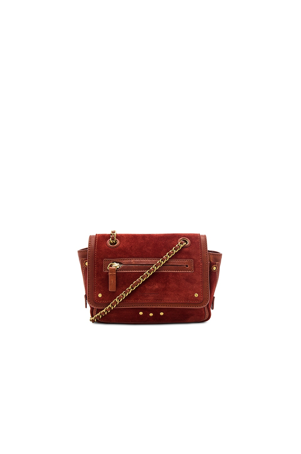 Jerome Dreyfuss Benji Crossbody in Red