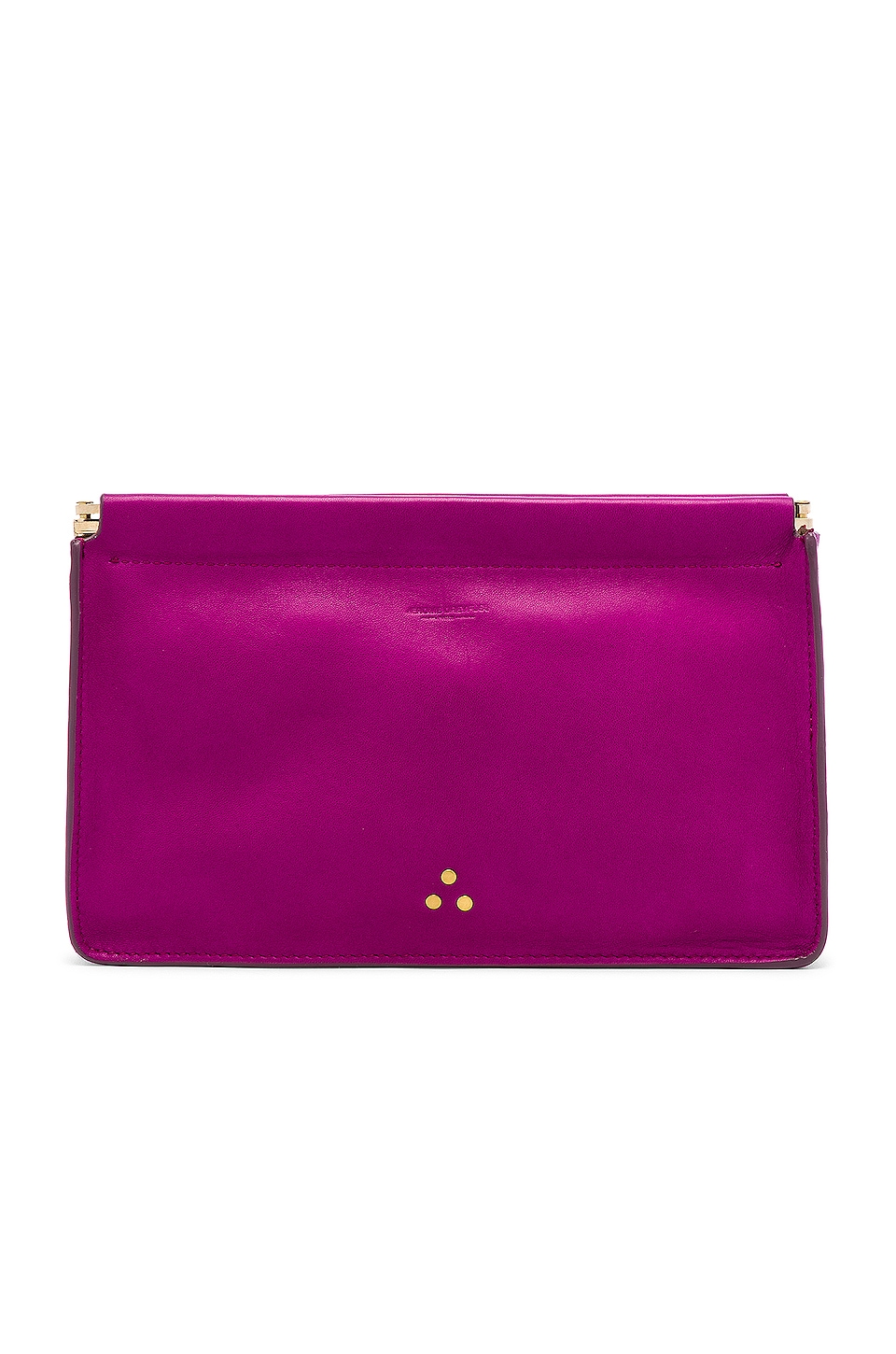Jerome Dreyfuss Clic Clac Large Clutch in Bougainvilliers