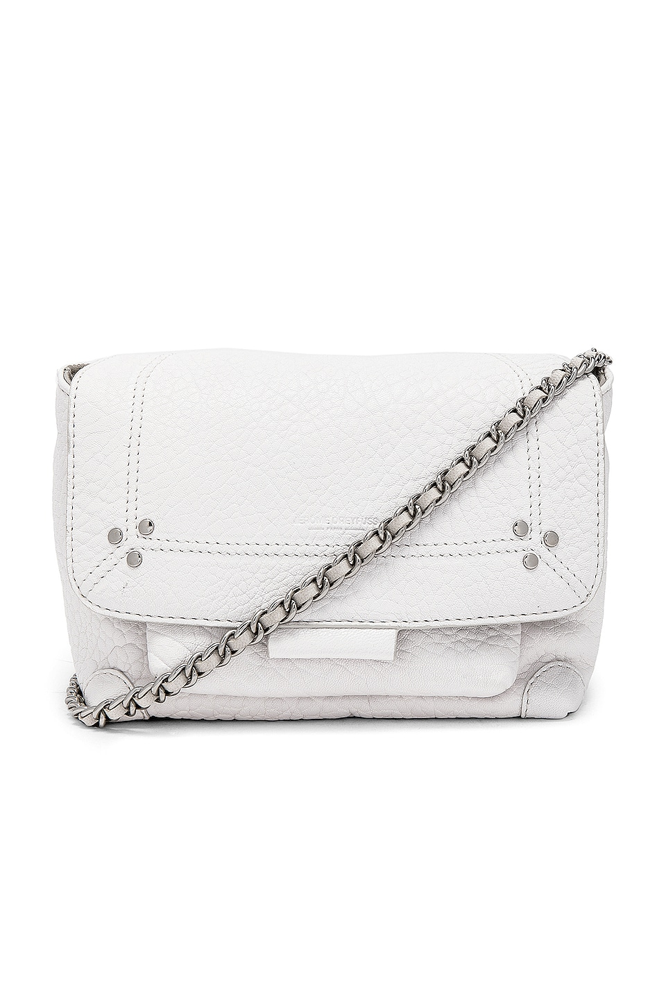 Jerome Dreyfuss Lulu Small Shoulder Bag in Blanc
