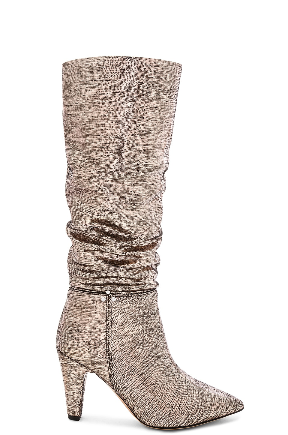 Jerome Dreyfuss Sandie 95 Boot in Lame Champagne