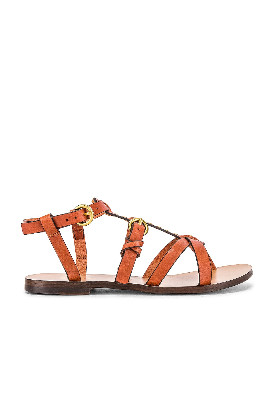 Jerome Dreyfuss Ulla Sandal in Gold