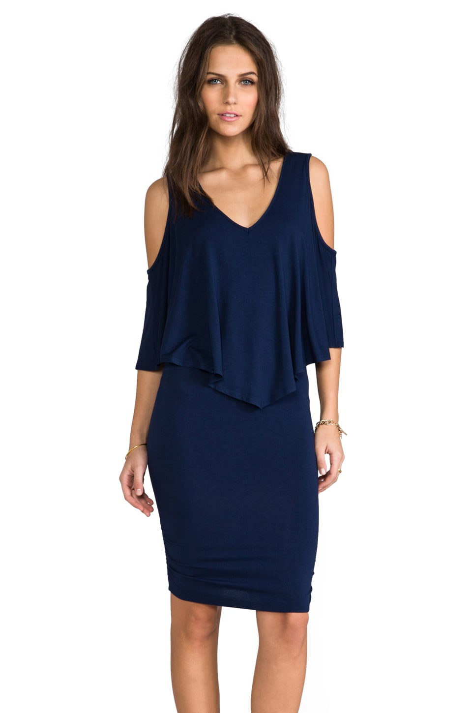 James & Joy Hazel Mini Dress in Navy