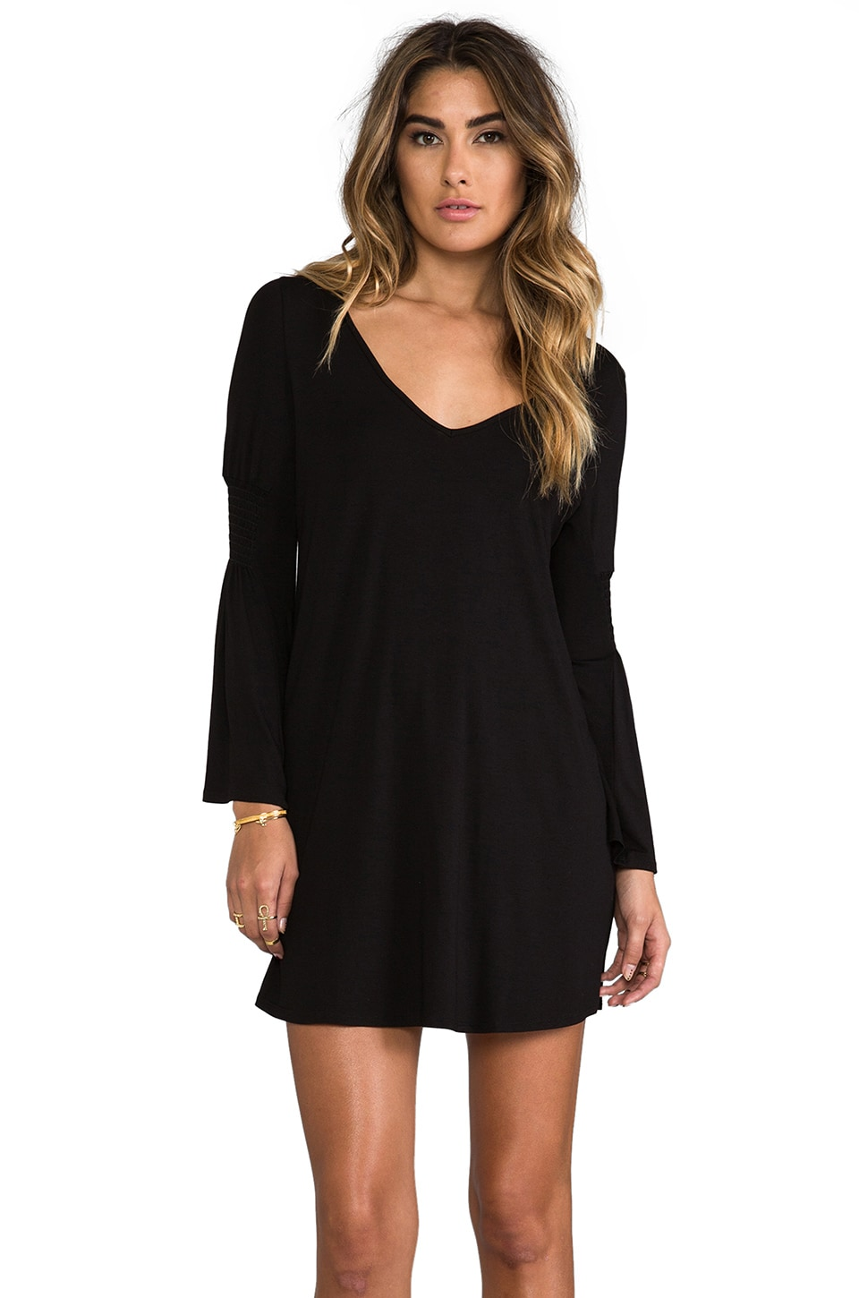 James & Joy Mallory Dress in Black
