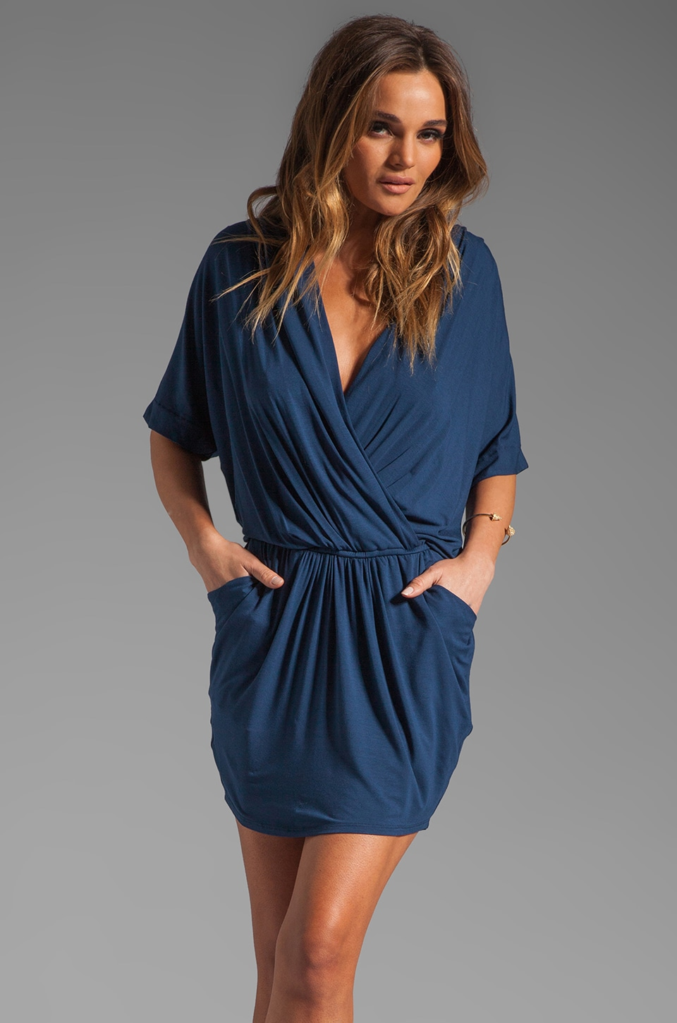 James & Joy Justine Dress in Navy