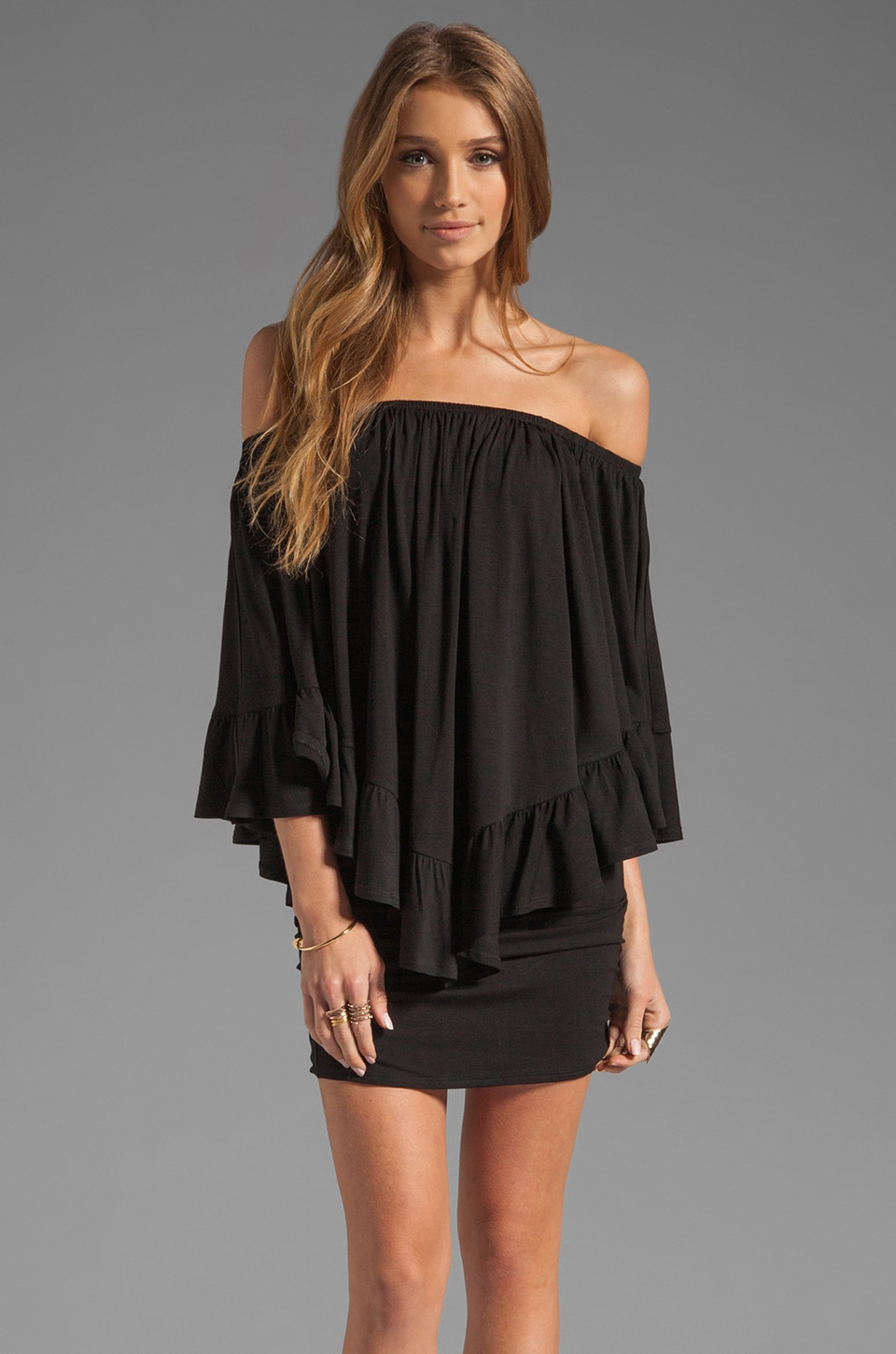 James & Joy Haley Convertible Dress in Black