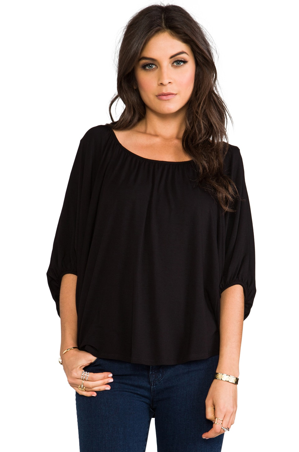James & Joy James Top in Black