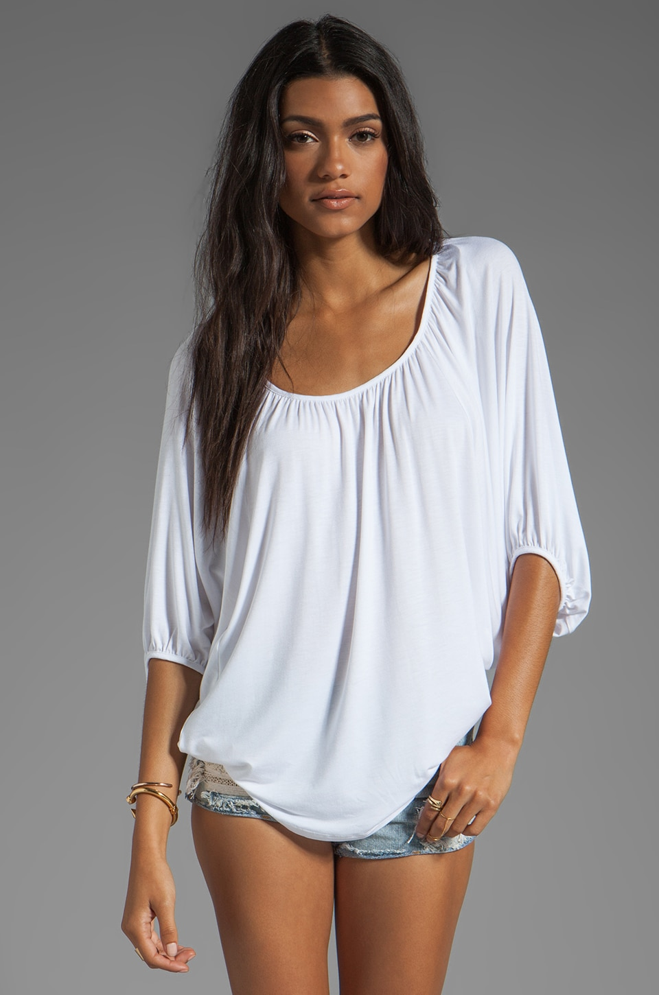James & Joy James Top in White