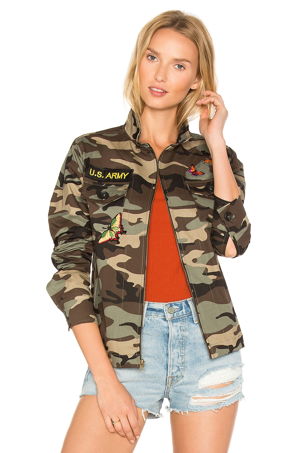 Camo Jacket by Jet John Eshaya
