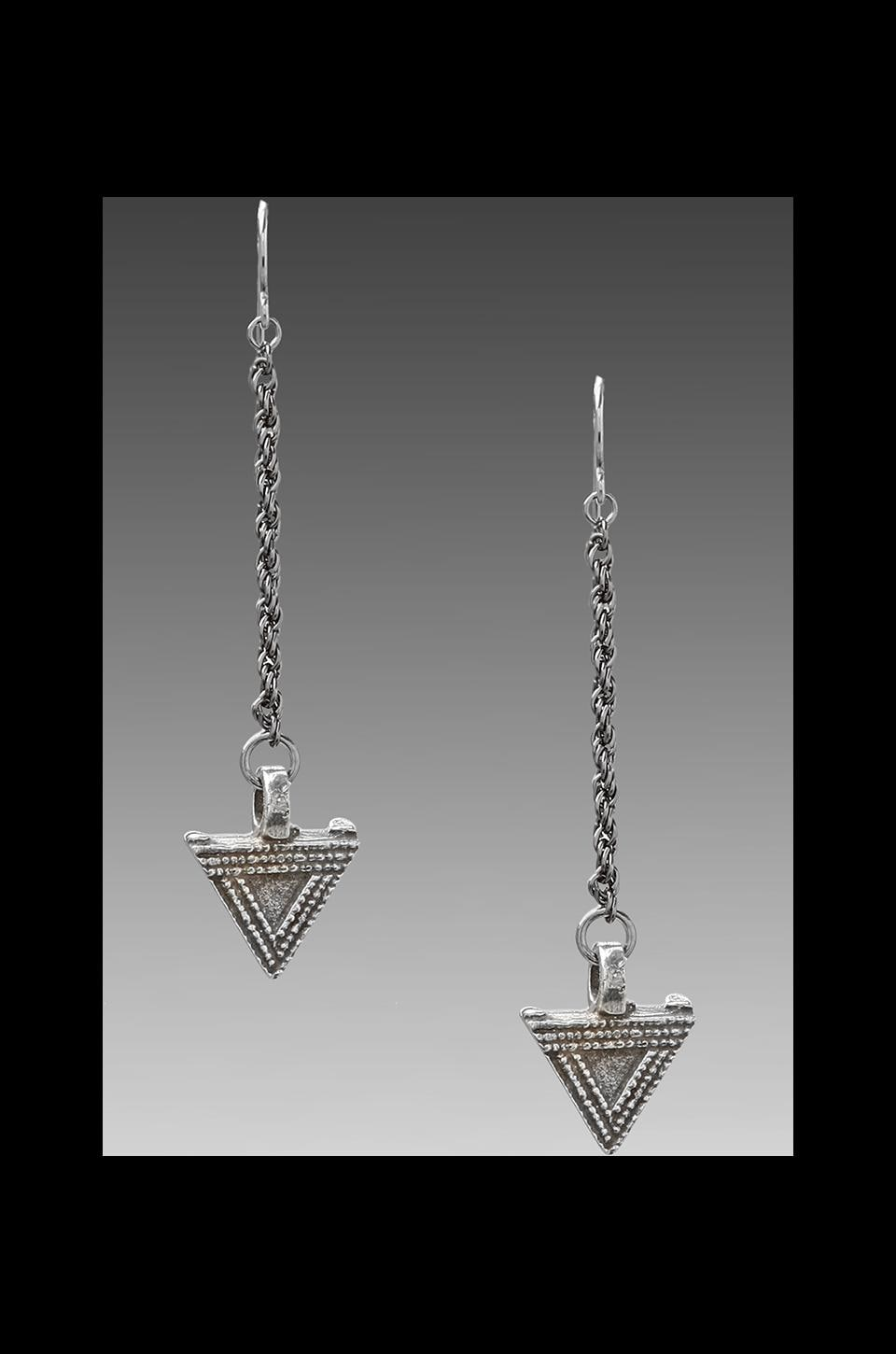 Vanessa Mooney DEPRECATED Vanessa Mooney The Priestess Earrings in Sliver