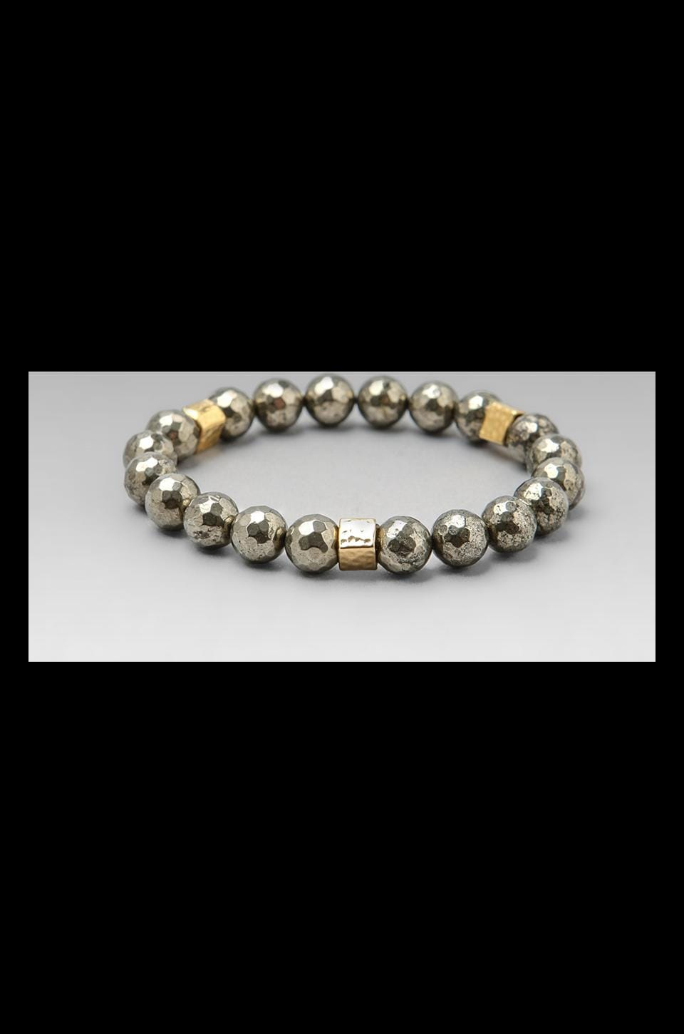JNB DEPRECATED JNB Pyrite Classic Bracelet in Gold