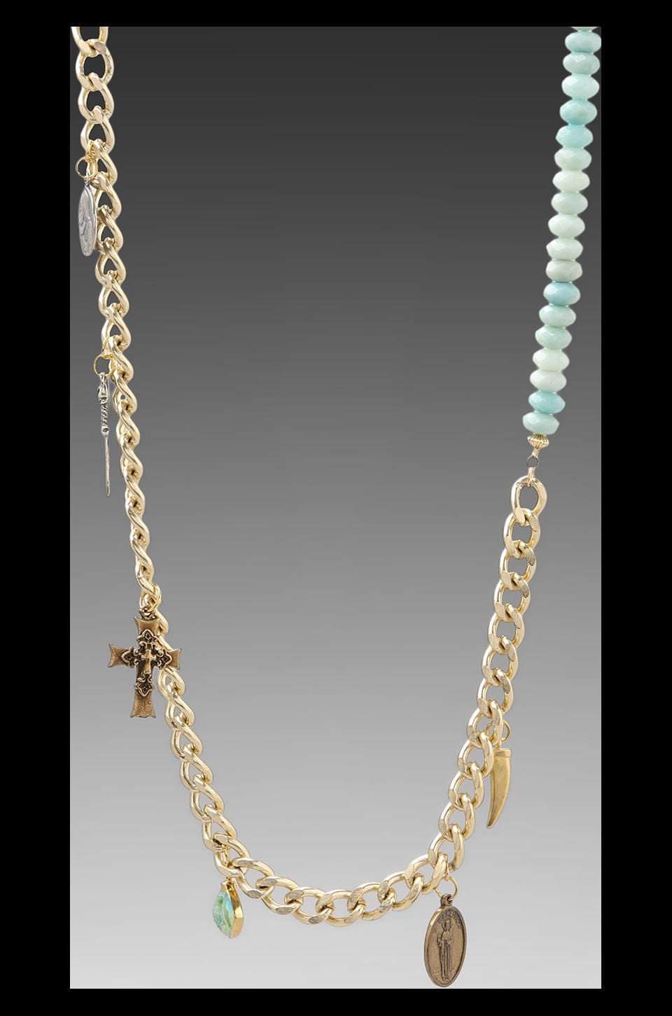 JNB DEPRECATED JNB Hana Bracelet in Gold/Turquoise
